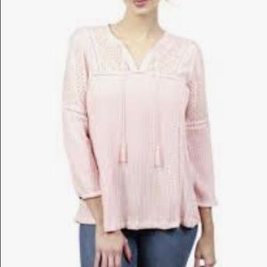 3/15$ Lucky Brand Peasant Top